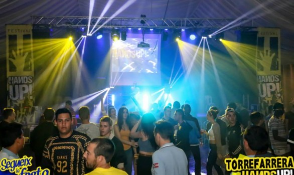 ★ HANDS UP! Tour @ TORREFARRERA  (12/09/2015).★