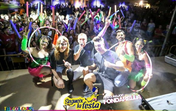 ★THE COLOURS @ FONDARELLA (03/09/2016) ★